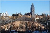NS5666 : University of Glasgow and Kelvin Hall by Jim Barton