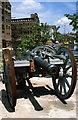 SO8218 : Fibreglass Cannon Film Prop, Gloucester Docks by Jeff Buck