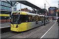 SJ8498 : Tram, Shudehill Interchange by N Chadwick