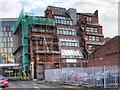 SJ8498 : The Umbrella Factory (Rear Elevation) by David Dixon