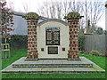 TG0511 : Mattishall War Memorial by Adrian S Pye