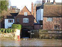SO8454 : Water Gate, Worcester by Philip Halling