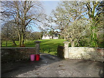 SW7340 : The entrance to Trevince, Gwennap by Humphrey Bolton