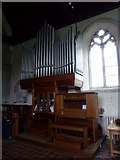TQ5203 : St Andrew, Alfriston: organ by Basher Eyre