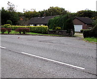 SJ5541 : Waymills bungalow and garage, Whitchurch by Jaggery