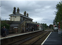 TM3863 : Saxmundham Railway Station by JThomas