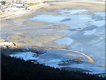 J3730 : The Lady Annesley Fishing Traps exposed at low tide by Eric Jones
