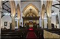 TF0761 : Interior, St Wilfred's church, Metheringham by Julian P Guffogg