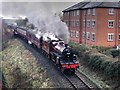 SD8010 : East Lancashire Railway, Site of Former Knowsley Street Station by David Dixon