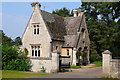TF0639 : Lodge at entrance to Aswarby Hall by Yvonne Parker