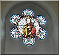 SJ9399 : St Ann's: Stained glass (8) by Gerald England