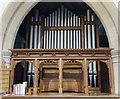 TF0761 : Organ, St Wilfred's church, Metheringham by Julian P Guffogg