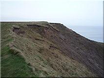 TA1281 : Eroding cliffs, Carr Naze by JThomas