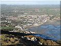 J3731 : The Co. Down coastal resort of Newcastle from the Drinneevar Ridge by Eric Jones