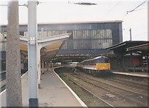 NY4055 : North end of Carlisle Citadel station by Richard Vince