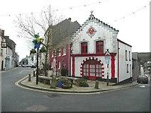 SW7834 : The former fire station, Penrhyn by Humphrey Bolton