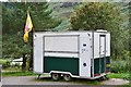 NN5528 : Mobile refreshment stall, Glen Ogle by Jim Barton