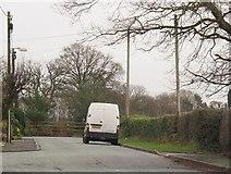 SJ7760 : Dead end of Heath Road by Stephen Craven