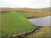 SD9810 : The dam, Dowry Reservoir by Jonathan Thacker