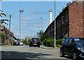 SJ6474 : Solvay Road in Winnington by Mat Fascione