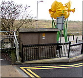 ST1599 : Lucania electricity substation, Bargoed by Jaggery