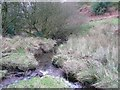 SE0221 : The confluence of Shaw's Clough and Old Eli Clough, Sowerby by Humphrey Bolton