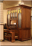 TQ2982 : St Pancras, Euston Road, NW1 - Chamber organ by John Salmon