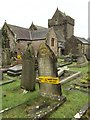 SS8377 : Churchyard Safety by Alan Hughes