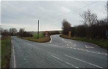 TA0579 : Road junction on the A1039 by JThomas