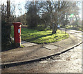 TL1412 : East Common George V Postbox by Adrian Cable