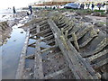 TF6741 : Wreck of the Sheraton and dead sperm whale, Hunstanton - 05 by Richard Humphrey