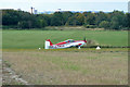TQ5583 : G-PWUL taxis back from a landing by Robin Webster