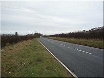 TA0779 : Flotmanby Lane (A1039) approaching Manor Farm by JThomas