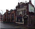 SK4292 : Two grand old pubs by Graham Hogg