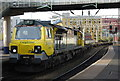 SJ8497 : Freight train at Manchester Oxford Road Station by N Chadwick