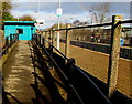 ST1880 : Path up to platform 2, Heath High Level station, Cardiff by Jaggery