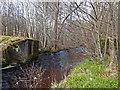 NH5042 : Former Bridge over the Bruiach Burn by valenta