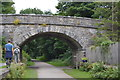 SK1971 : Longstone Lane Bridge, Monsal Trail by N Chadwick