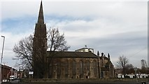 SE2932 : The former St Matthew's, Holbeck from the south by Stephen Craven