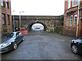 NS3174 : Mary Street railway arch by Thomas Nugent