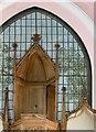 SK8616 : Church of the Holy Trinity, Teigh by Alan Murray-Rust