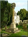 SK8613 : Church of St Mary, Ashwell - churchyard cross by Alan Murray-Rust