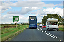 NZ4904 : A172 traffic by Robin Webster