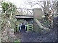 SJ3069 : Former mineral railway bridge by John S Turner