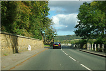 NZ6216 : Whitby Lane at 21 miles to Whitby by Robin Webster