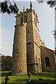 SK9246 : All Saints' church tower by Richard Croft