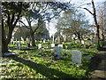 TQ5175 : The churchyard of St Paulinus, Crayford by Marathon