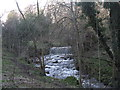 NT2470 : Weir on the Braid Burn by M J Richardson