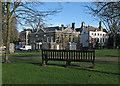 TL3540 : Royston: fine houses on Melbourn Street by John Sutton