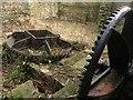 NZ2567 : Mill machinery at Jesmond Dene Old Mill by Graham Robson